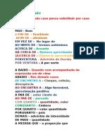 variações linguisticas ( tabela )
