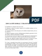Educación Moral y Transversalidad