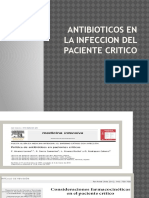 ANTIBIOTICOS EN PACIENTE CRITICO