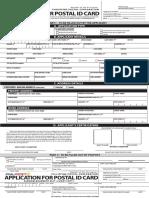 Postal Id App Form
