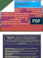 CICLO HIDROLOGICO-1ª