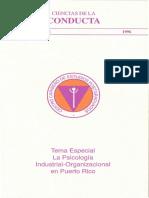 Ciencias de la Conducta UCA 1996