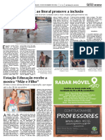 Diário Oficial – Praia acessível - Nov/2014