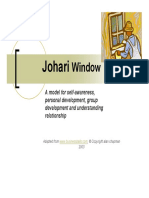 Johari Window Explain