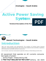 Active Power Saving System