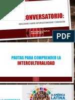 Reflexiones sobre interculturalidad y educación
