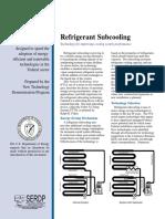 FTA Refrig Subcooling