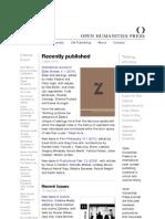 Open Humanities Press