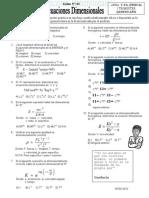 practica ecuaciones dimensionales
