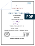 Chanchal Singh MBA(SM) Pt-II Seme-III