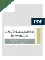 Acccion Extraordinaria de Proteccion