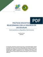 Políticas Educativas Contra La Violencia Escolar