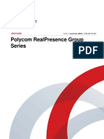 Polycom RealPresence Group Series User Guide