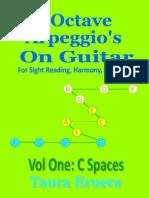 Guitar Music Reading 3 Octave Arpeggios