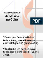 Musica No Culto
