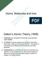ITT Chng Ch 02 Atoms Molecules and Ions