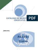 CATÁLOGO DE MICROTOMOS