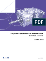 Eaton 6-Speed Synchromesh Transmission