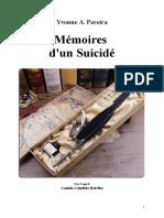 Pereira Yvonne Do Amaral Fr Mémoires d'Un Suicidé Jys