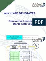 Innovation Da Vinci Slides