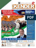 Indian Weekender January 29, 2016