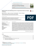 Manifestations and Underlying Drivers of Agricultural Land Use Change in Europe