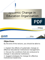 lecture on systematic change in edu org  xprint lagi