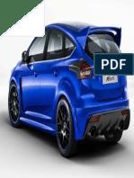 Ford Focus RS 2016 Belakang