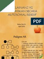 Autosomal resesif
