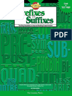 Prefixes and Suffixes Teaching Vocabulary to Improve Reading Comprehension