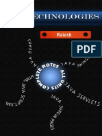 Web Technologies Complete Notes by Brj