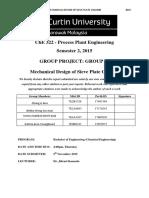 Mechanical Design of Sieve Plate Column
