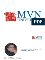 Mvn University   Best University in Delhi NCR, Haryana, India