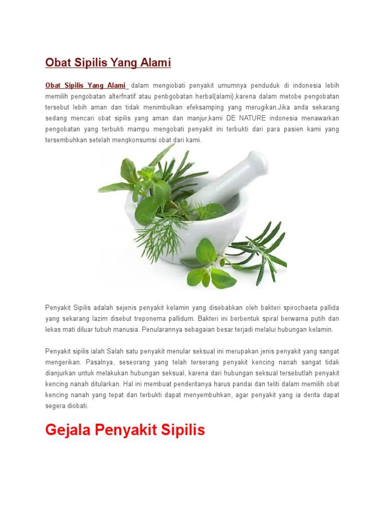 Obat Sipilis Yang Alami Kencing Nanah Spelis 1535674122v1