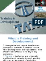 Training in Tata Group