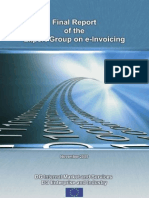Final Report of the Expert Group on e-invoicing