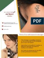 Dre Carole Cyr, experte en enlèvement de tatouage
