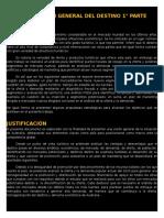 Información General Del Destino 1