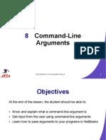 commandline arguments