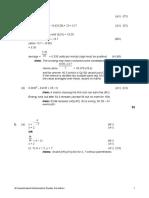 quadartic models quiz answers revision