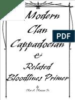 Modern Cappadocian Clan Primer