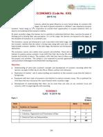2016 Syllabus 11 Economics