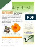 April 9 Blast