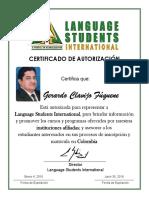 Certificado de Autorizacion - Gerardo Clavijo (1)