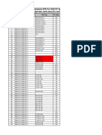 Point Schedule AHU 51