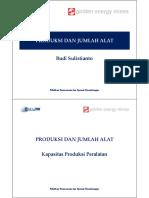 Modul Produksi Dan Jumlah Alat