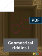 Geometrical riddles