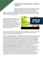 Salud y belleza venta por menor en Corea del sur - Resumen de mercado y pronósticos;...