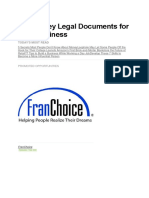 The 10 Key Legal Documents for Your Business