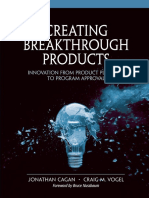 Creating Breakthrough